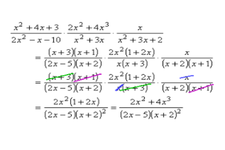Concept Applications of Adding and Subtracting Rational Expressions