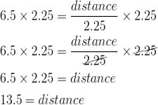 Concept Applications of One-Step Equations