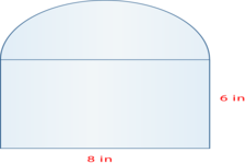 Concept Areas of Combined Figures Involving Circles