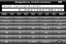 Concept Calculator Use with Algebra Expressions