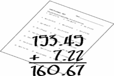 Concept Decimal Addition