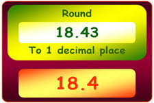 Concept Decimal Comparisons with Rounding