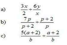 Concept Division of Rational Expressions