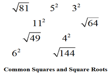 Concept Estimation of Square Roots