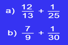 Concept Estimation of Sums of Mixed Numbers and Fractions