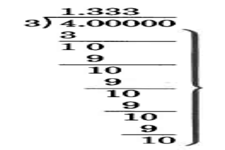 Concept Estimation to Check Decimal Division