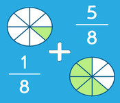 Concept Fraction Comparison with Lowest Common Denominators