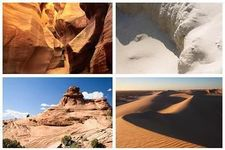Concept Landforms from Wind Erosion and Deposition