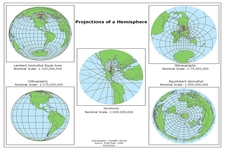 Concept Map Projections