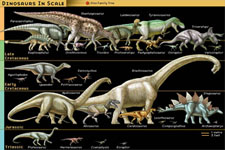 Concept Mesozoic Era - The Age of Dinosaurs