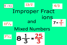 Concept Mixed Numbers as Improper Fractions