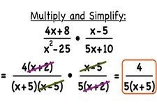 Concept Multiplication of Rational Expressions