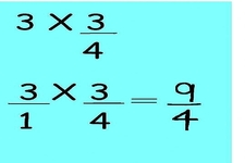 Concept Multiplication of Whole Numbers by Fractions