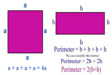Concept Perimeter of Squares and Rectangles