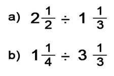 Concept Quotients of Mixed Numbers