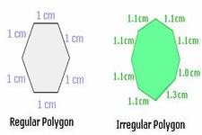 Concept Regular and Irregular Polygons