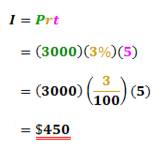 Concept Simple Interest Equation to Find Interest Rate