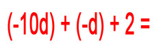 Concept Simplify Variable Expressions Involving Integer Addition
