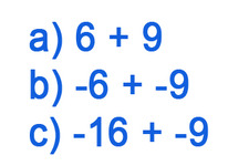 Concept Sums of Integers with the Same Sign