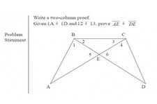 Concept Two-Column Proofs
